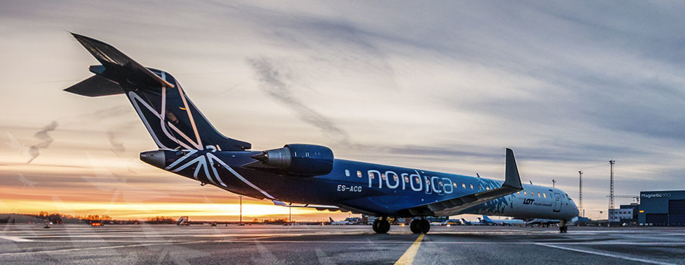 CRJ900ER Ettevottest About the company Nordica FlyNordica 980x380 2018 10 1